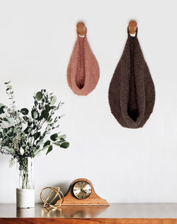 Knit Kit - Slouchy Hanging Baskets