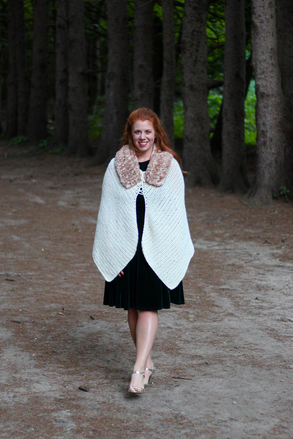 Crochet Kit - Through the Woods Cape