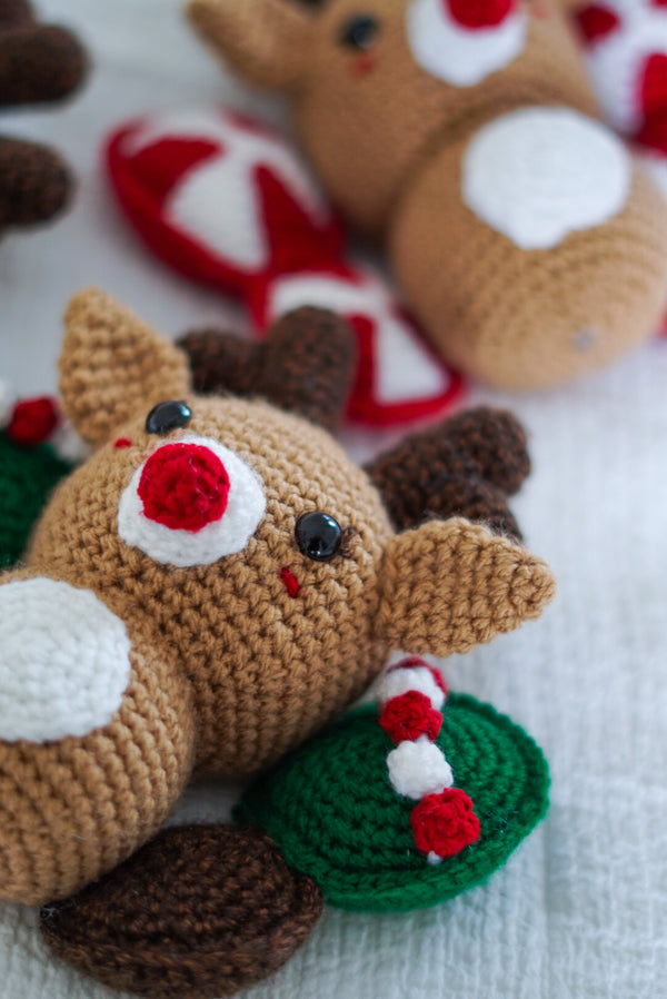 Crochet Kit - Butterfly Reindeer