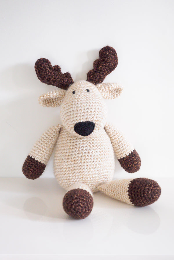 Crochet Kit - Plush Reindeer