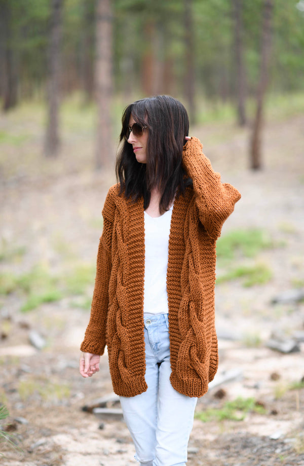 Knit Kit - Coziest Cable Cardigan