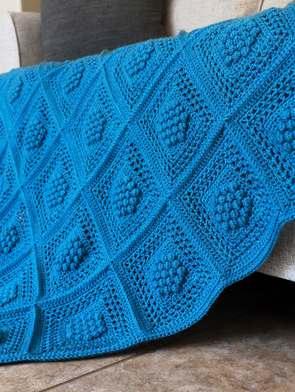 Crochet Kit - Winterberry Throw