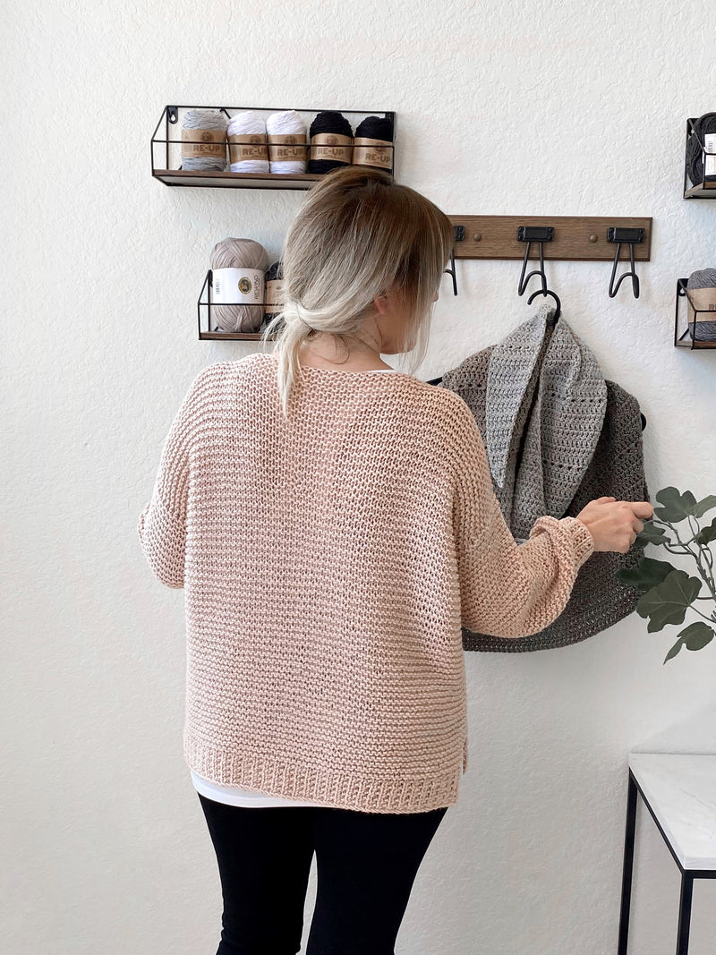 Knit Kit - Cobblestone Sweater