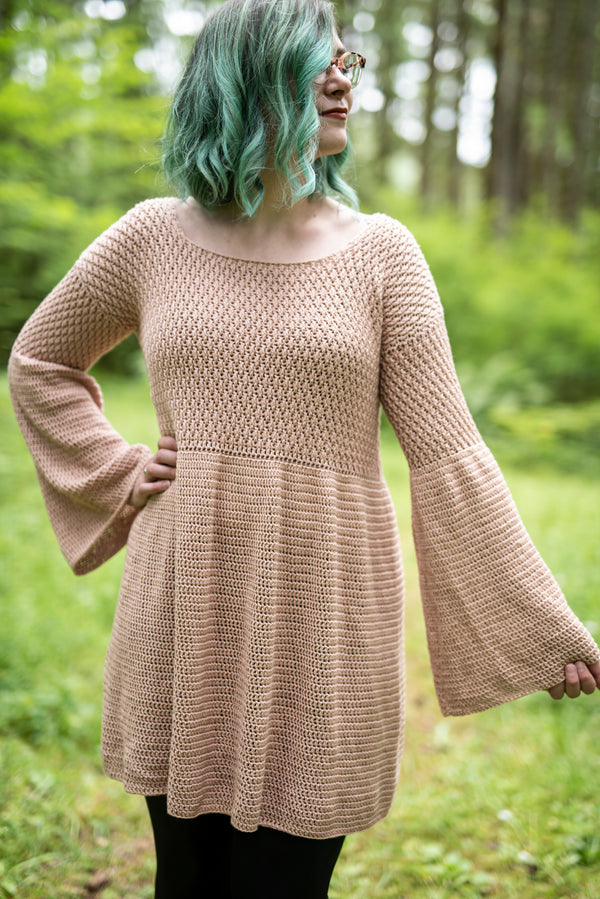 Crochet Kit - The Dove Dress