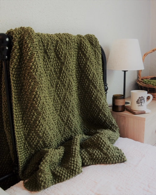 Knit Kit - Diamond of Virgo Blanket
