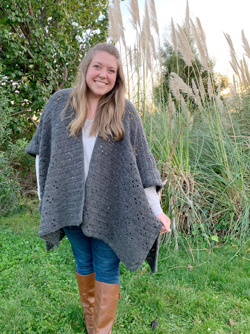 Crochet Kit - The Guthrie Cape