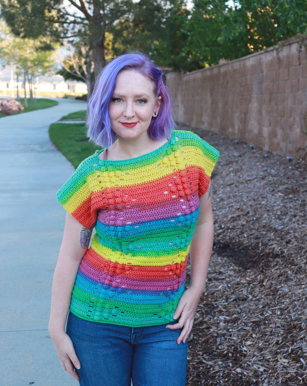 Crochet Kit - Bridget Bobble Shirt