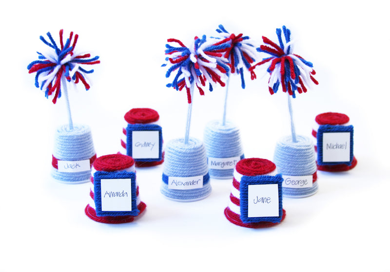 4th of July Place Cards (Crafts)