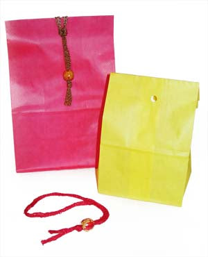 Bead Gift Bag Fastener (Crafts)