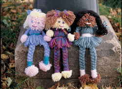 Pom Pom dolls Pattern (Crafts)