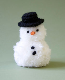 Pom pom Snowman Pattern (Crafts)
