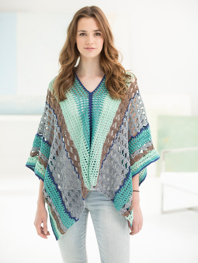 Clement Canyon Poncho (Crochet)