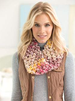 Cliff Rose Cowl (Crochet)