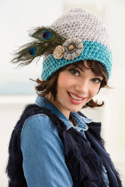 Lady Vanessa Hat (Crochet)