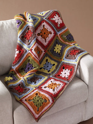8-Color Afghan (Crochet)