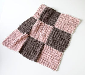 9 Patch Blanket Pattern (Crochet)