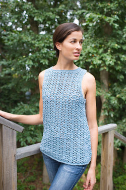 Airy Lace Shell (Crochet)