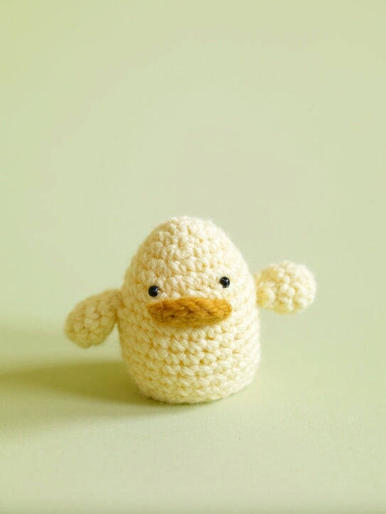 Amigurumi Ducky Egg Cozy Pattern (Crochet)