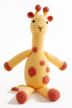 Amigurumi Georgina the Giraffe Pattern (Crochet)