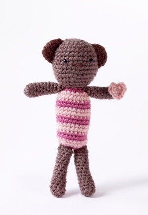 Amigurumi Heartfelt Bear Pattern (Crochet)