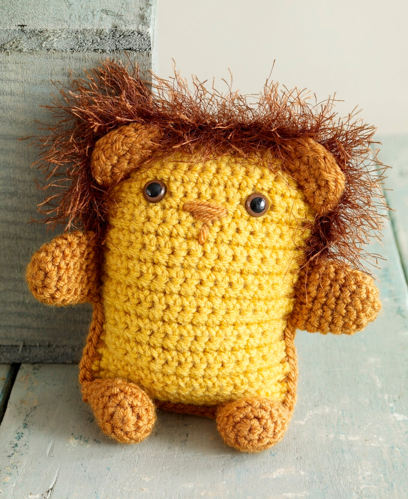 Amigurumi Lion Pattern (Crochet)