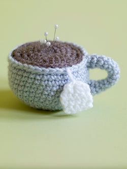Amigurumi Tea Cup Pincushion (Crochet)