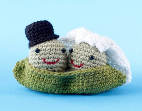 Amigurumi Two Peas in a Pod (Crochet)