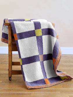 Basking Ridge Blanket (Crochet)