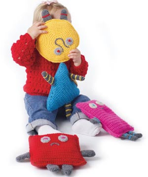 Best Buddies Soft Toys Pattern (Crochet)