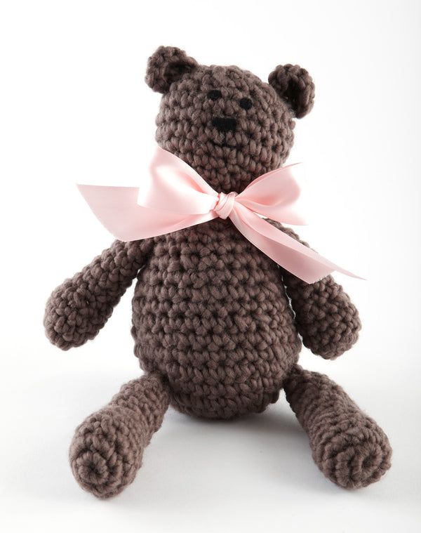 Boudreaux The Bear Pattern (Crochet)