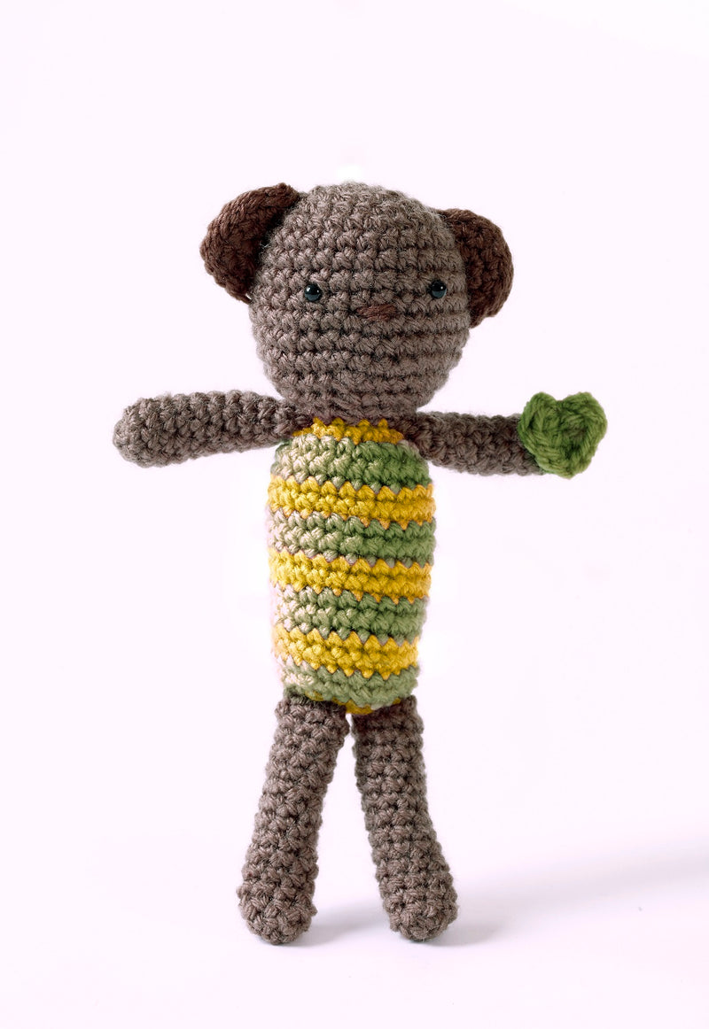 Buddy Bear Pattern (Crochet)