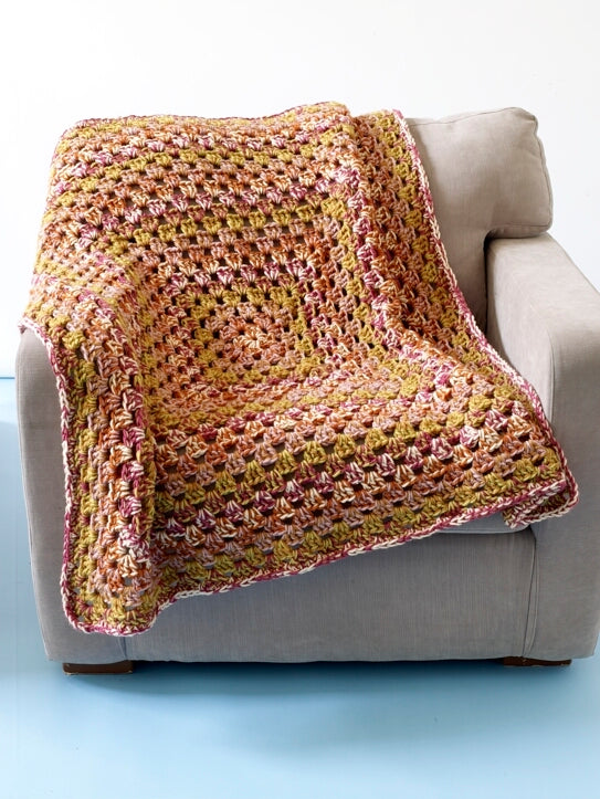 Candy Box Granny Afghan (Crochet)