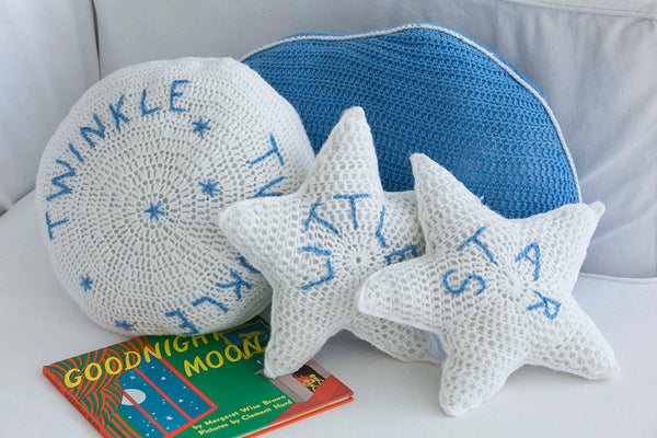 Celestial Pillows Pattern (Crochet)