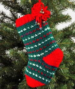 Christmas Stocking (Crochet)