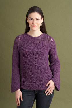 Circular Motion Sweater Pattern (Crochet)