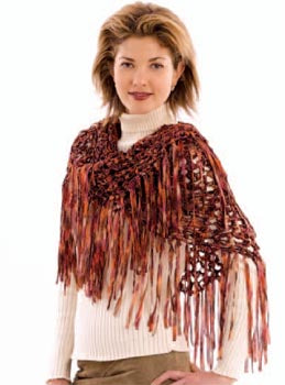 Crochet Bronze Beauty Shawl Pattern (Crochet)