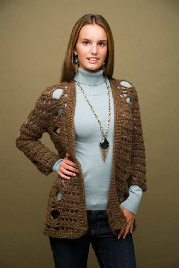 Crochet Cardigan Pattern (Crochet)