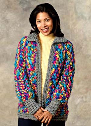 Crochet Catskills Jacket Pattern (Crochet)