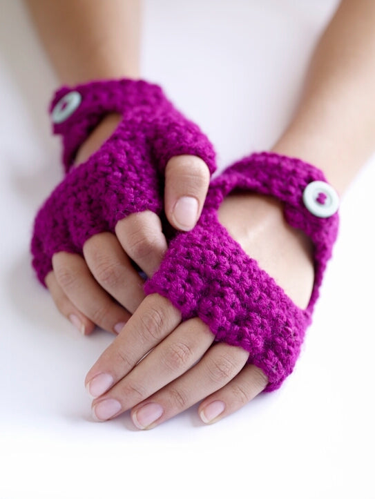 Crochet Driving Gloves (Crochet)