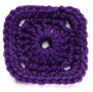 Crochet Motif IV Circle in the Square Pattern (Crochet)