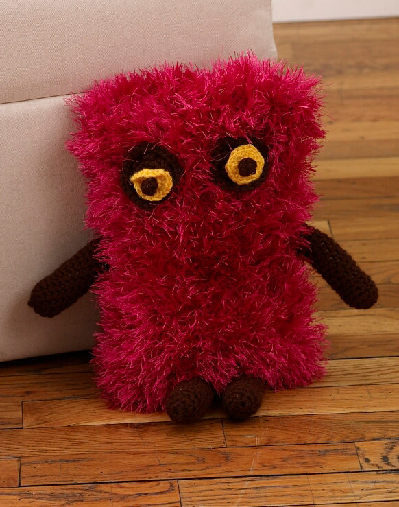 Crochet Rectangle Shaped Monster Pattern (Crochet)