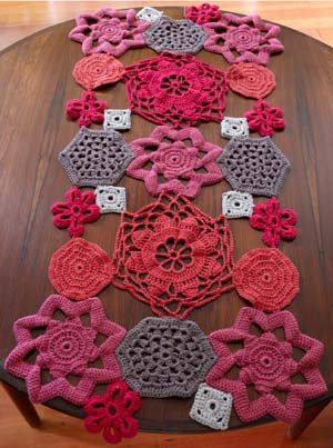 Crochet Shapes Table Runner (Crochet)