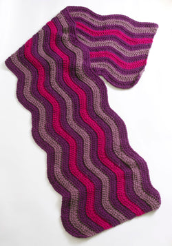 Crocheted Ripple Wrap