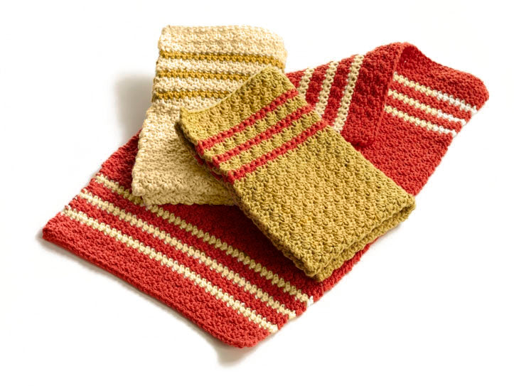 Daily Grind Dishtowels (Crochet)