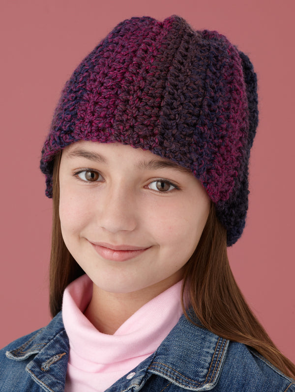 Double Crochet One-Ball Hat