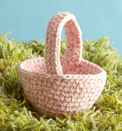 Easter Basket Pattern (Crochet)