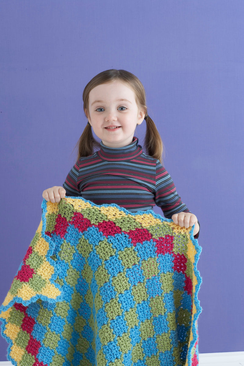 Enticing Baby Afghan Pattern (Crochet)
