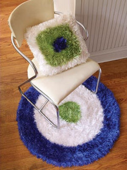 Fabulous Felted Pillow Pattern (Crochet)