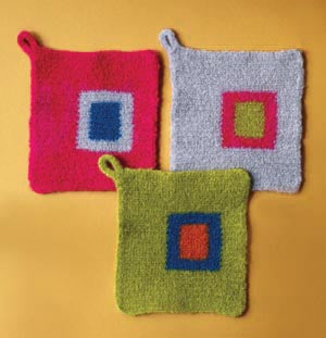 Felted Potholder (Crochet)