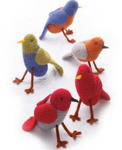 Felted Tweety Birds Pattern (Crochet)